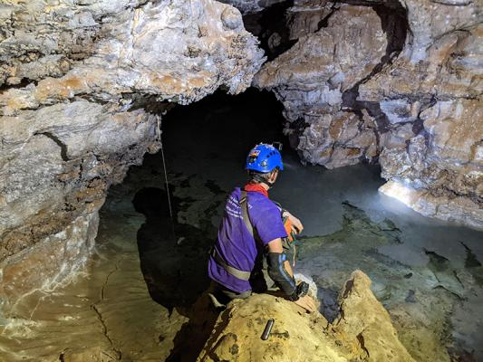 Cave research
