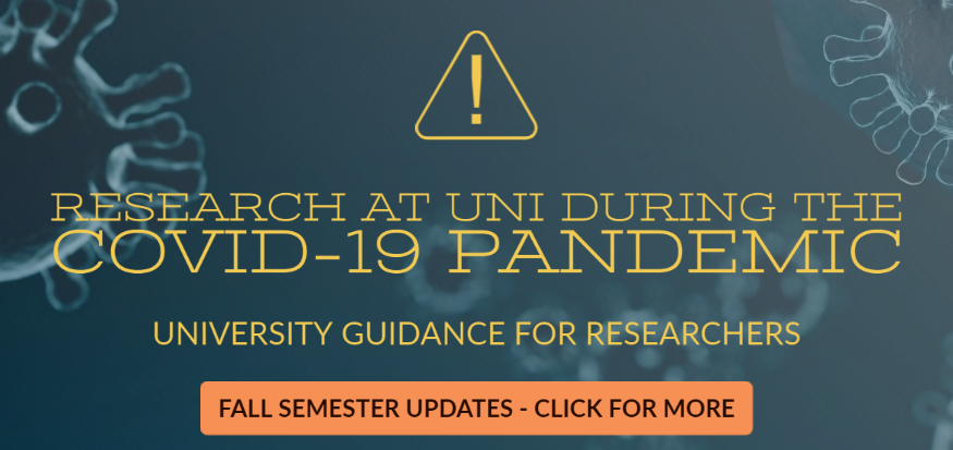UNI Guidance on Research During COVID-19